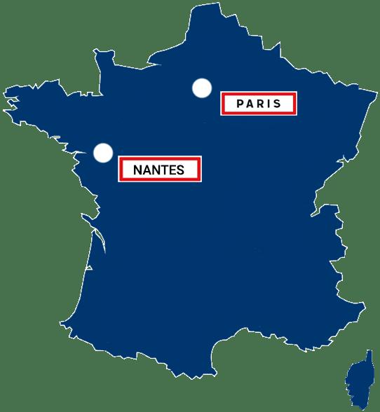 Hébergeur Cloud France Datacenters sur Nantes et Paris