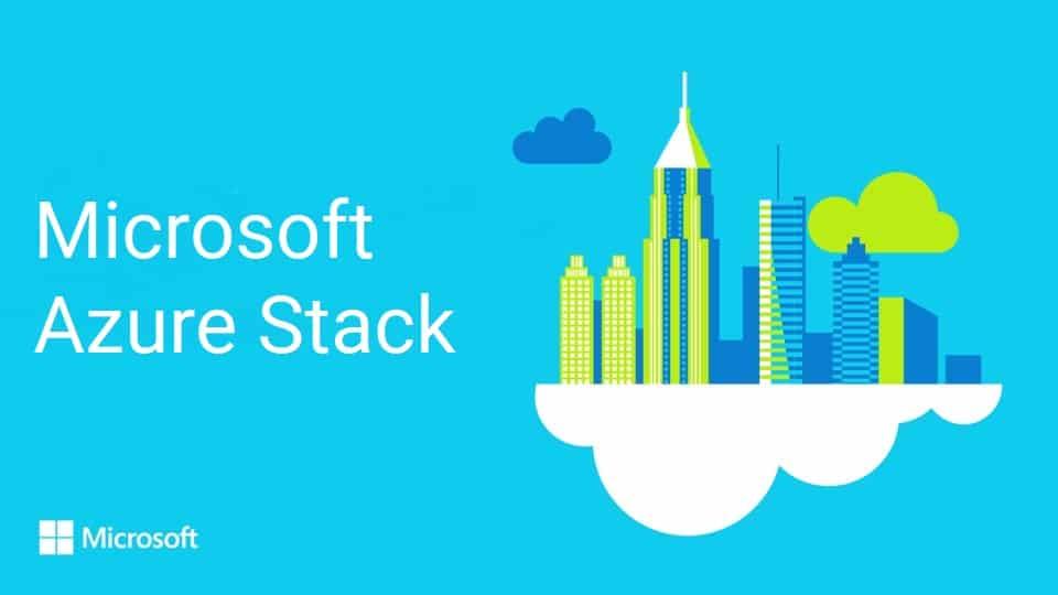 Microsoft Azure Stack pour déployer votre cloud hybride !