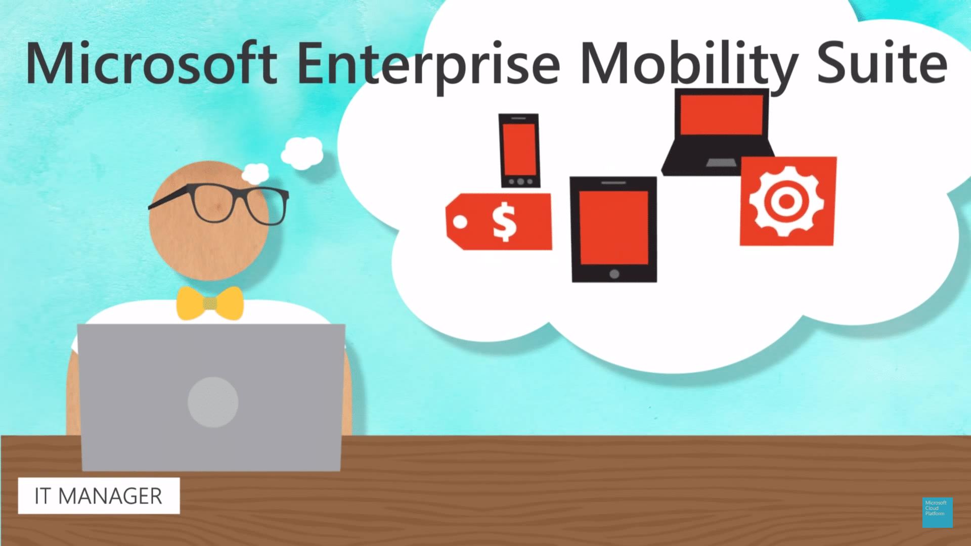 Mobilité et Sécurité avec la solution Enterprise Mobility + Security EMS !