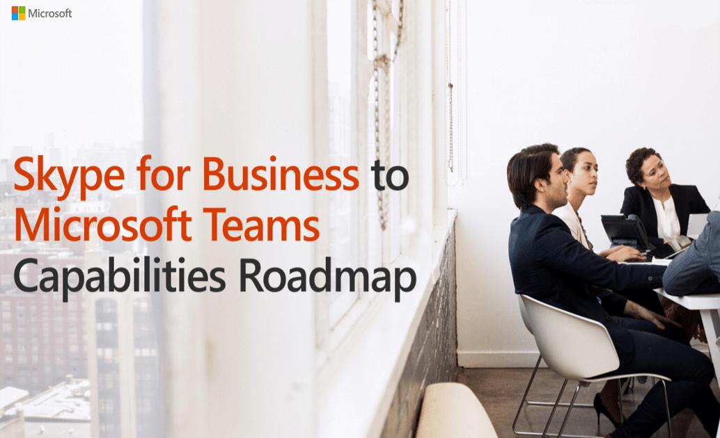 Roadmap migration Skype Business vers Teams Microsoft Office 365