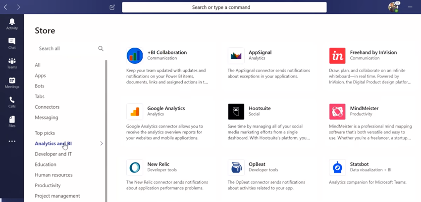 Applications Microsoft Teams Office 365 Entreprise
