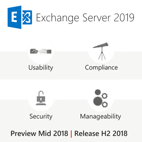 version preview exchange 2019