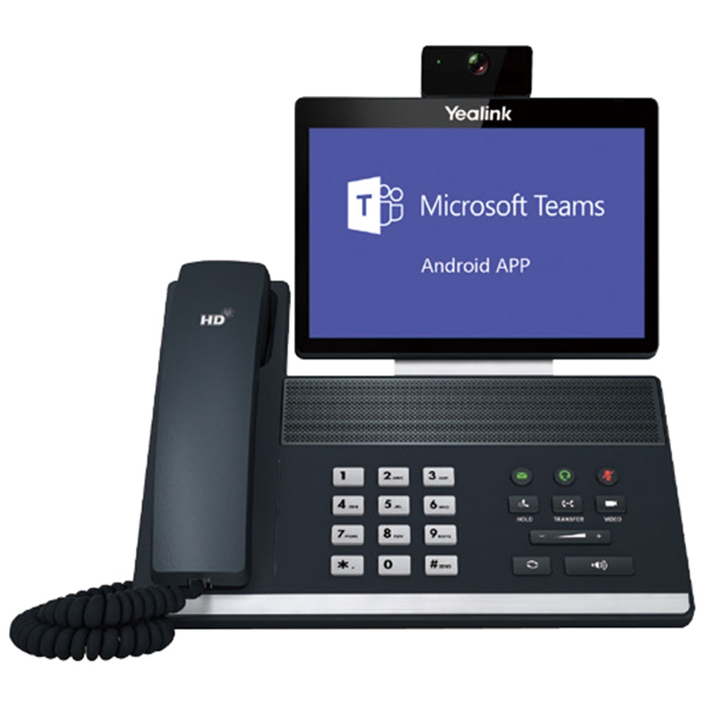 Téléphones IP Yealink avec Adroid app Teams Office 365