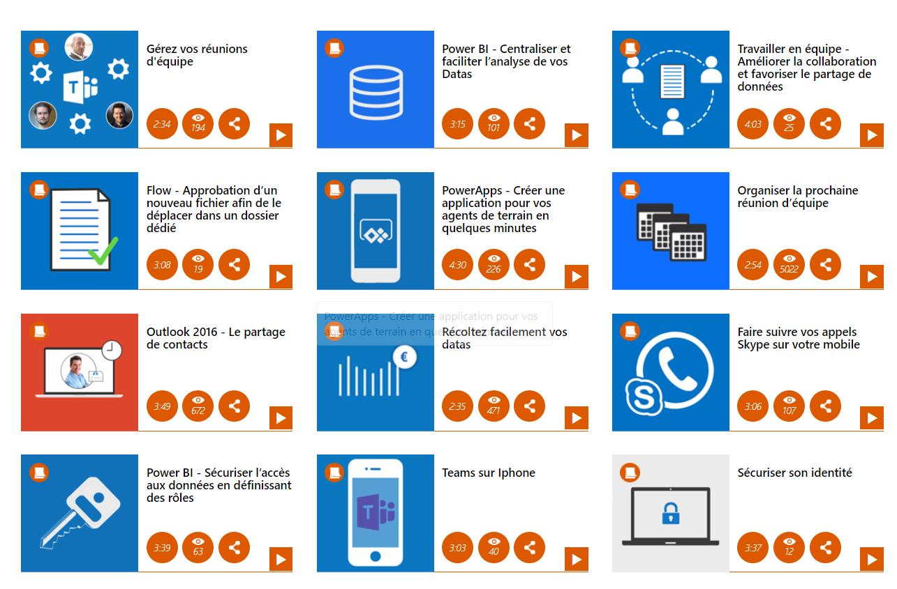 Cas d'usage Office 365 Exemples d'utilisations des outils bureautiques O365
