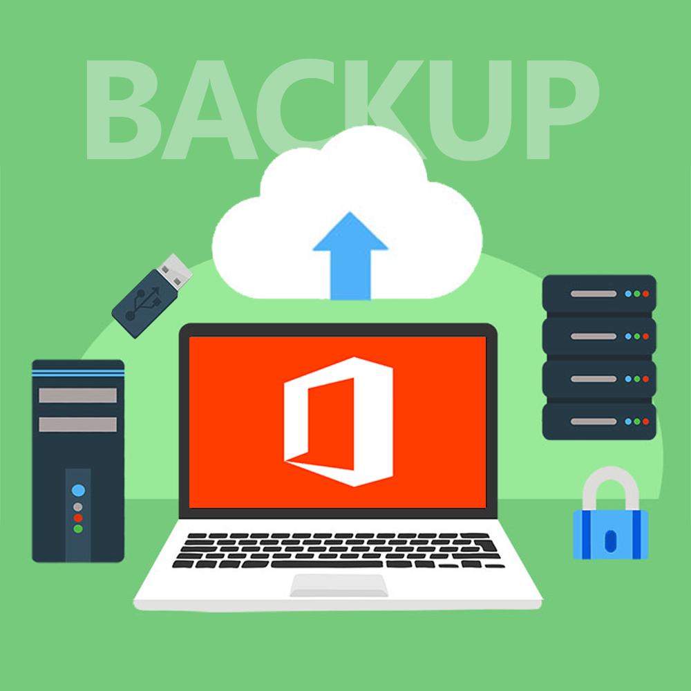 backup Office 365 sauvegarde azure