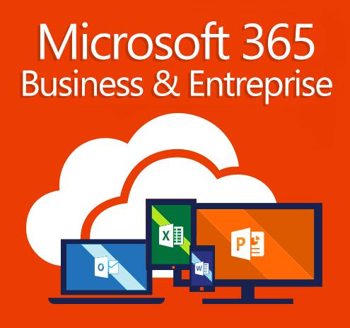 Comparatif ds licences Microsoft 365 Business et Entreprise E3 et E5