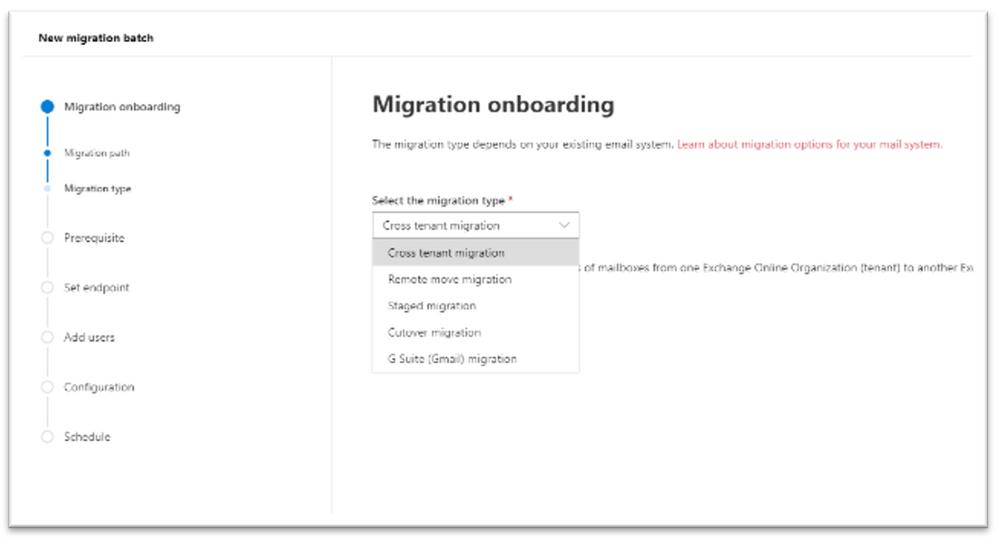 Migration cross tenant Exchange Admin Ignite 2020