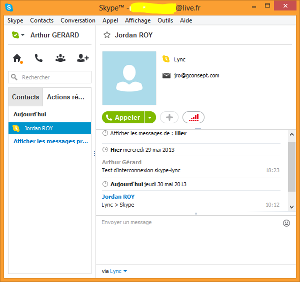 how to add skype contacts to lync